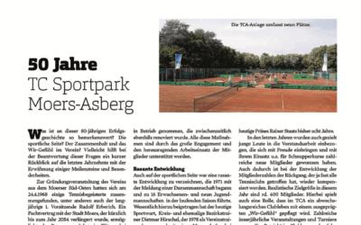 50 Jahre TC Sportpark Moers-Asberg e.V.
